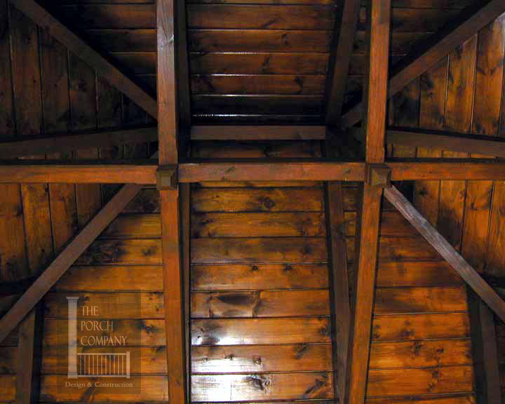 Patio Ceiling Beams : Porch ceiling beams the companythe company