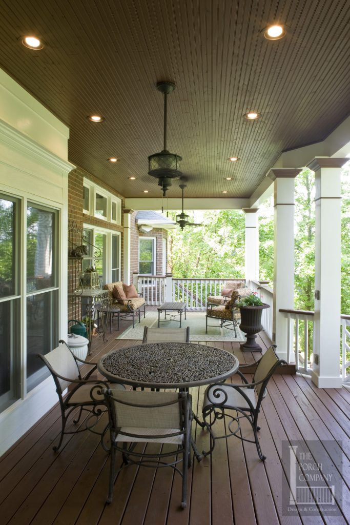 2 Nashville Porch Flat Roof Beadboard Ceiling The Porch