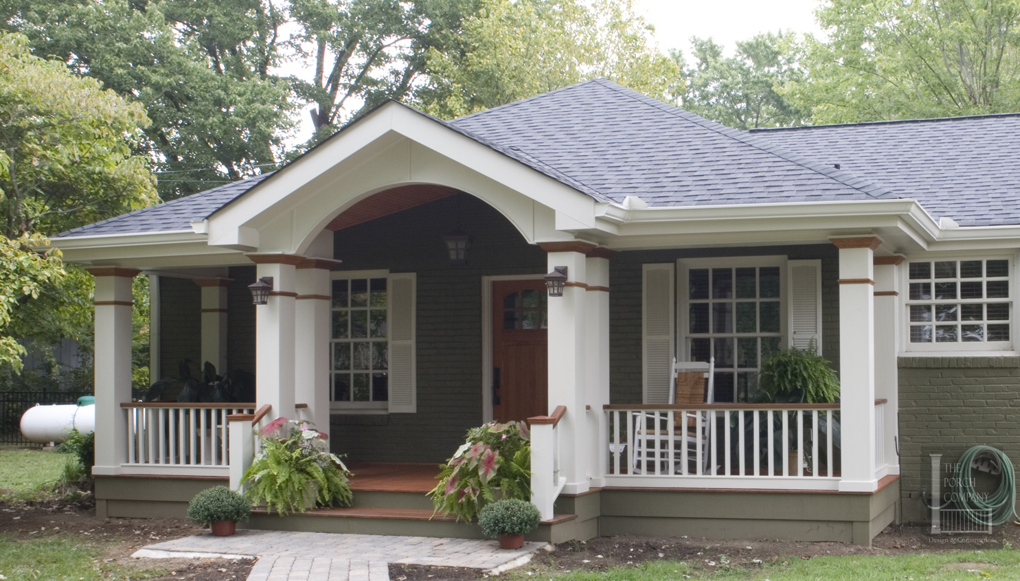 Superior Porch Roof Designs #4: Gable Hip Roof By The Porch Company