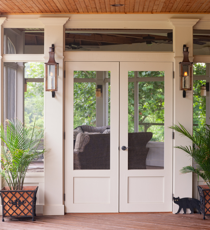 Screen doors from the porch company shop the porch for Double door screen door