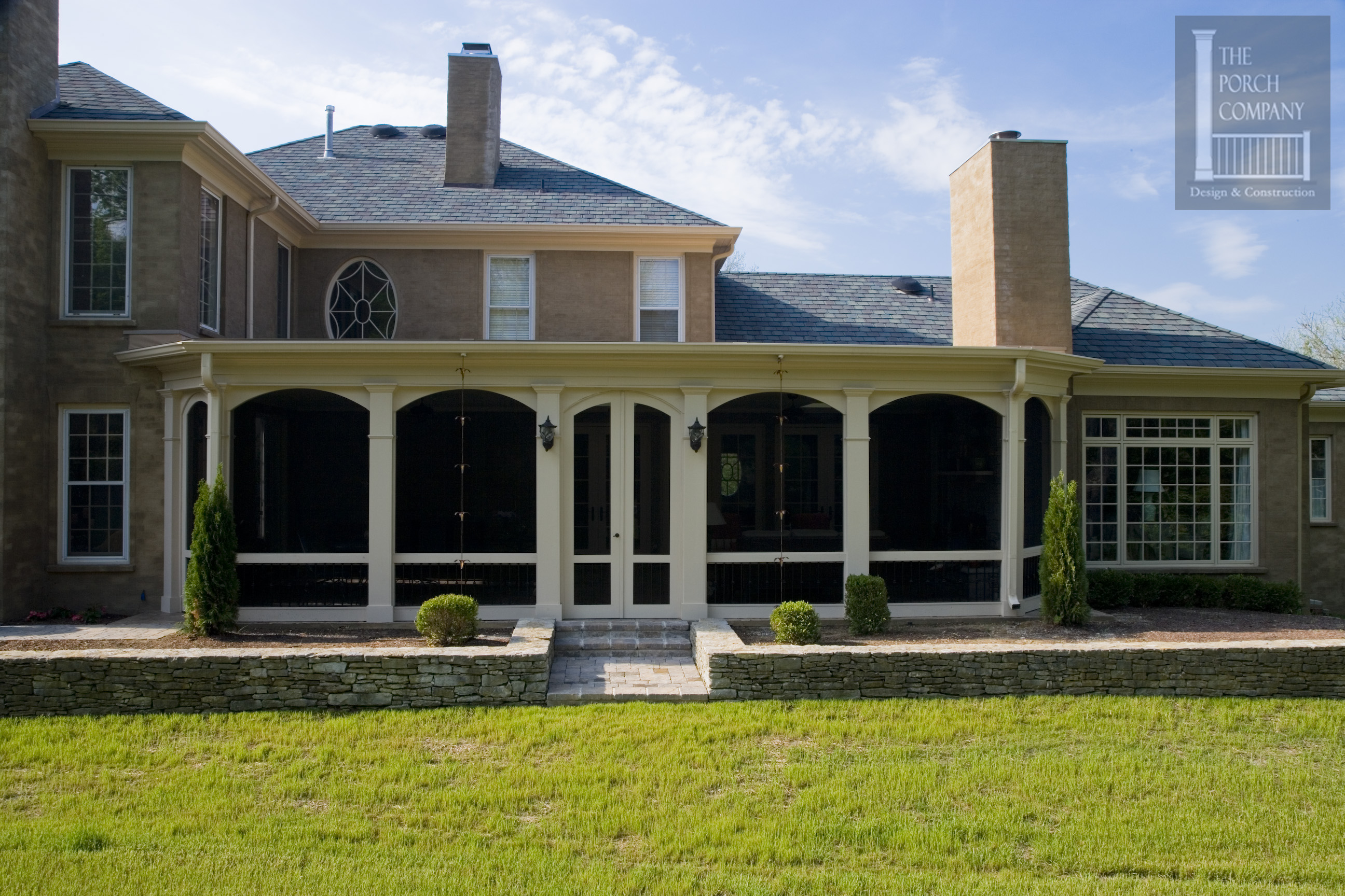 Flat roof on screened porch the porch companythe porch for Flat roof porches