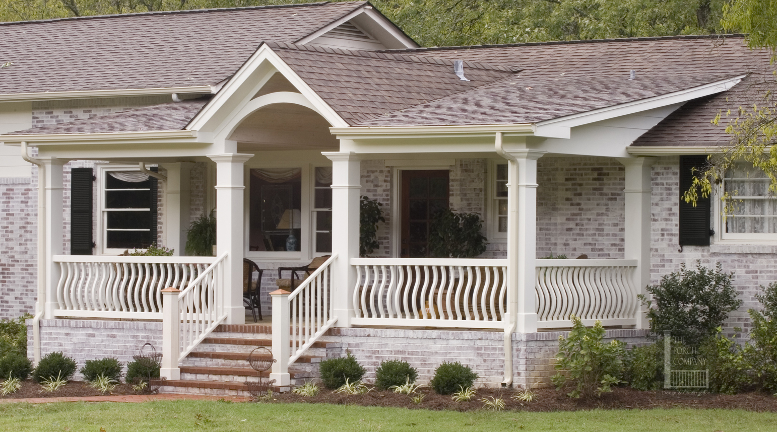 Shed roof front porch for Shed roof porch designs