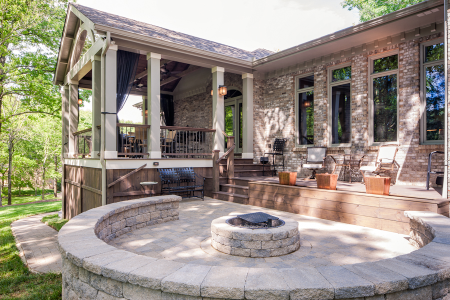Charmant The Story About This Featured Porch In Franklin TN Is About Transitions And  Multiple Living Areas. Although It May Not Be Apparent At First Glance, ...