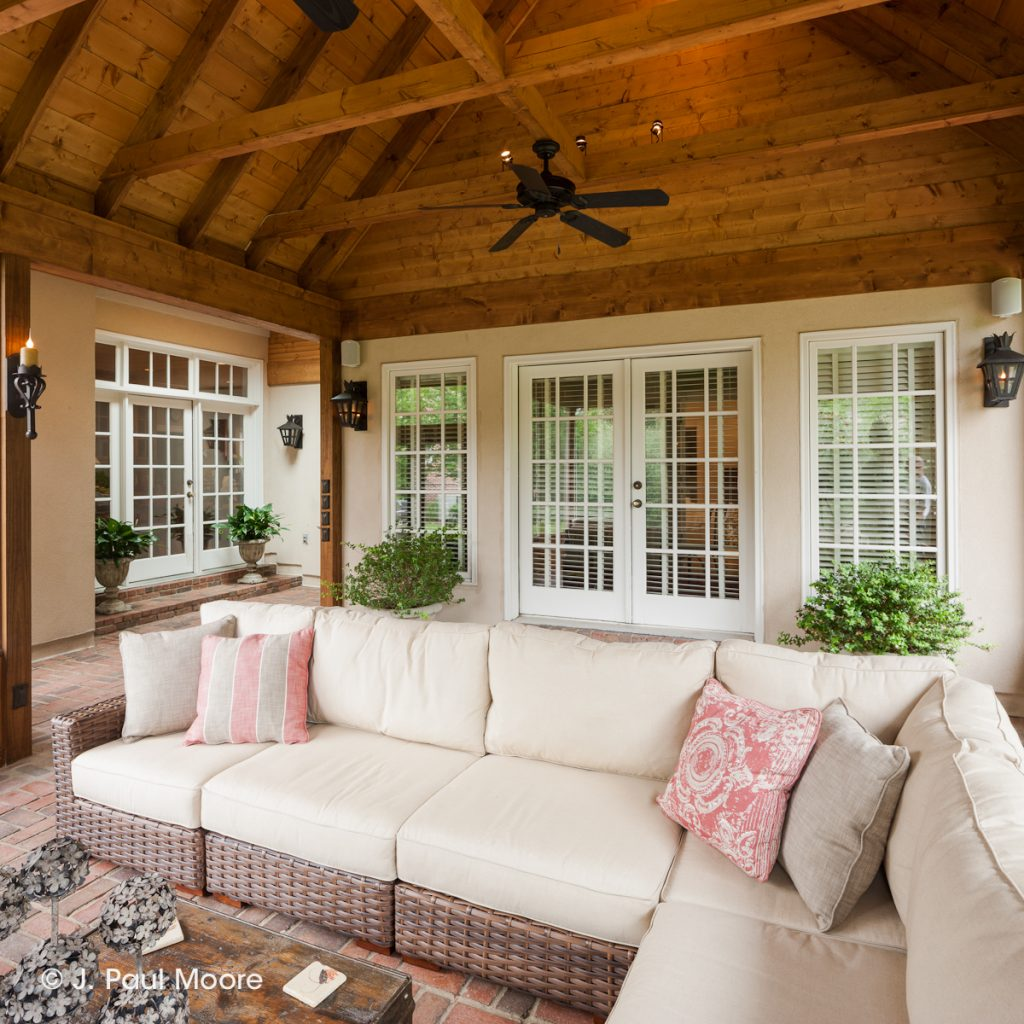 A Beautiful Screened Porch In Nashville