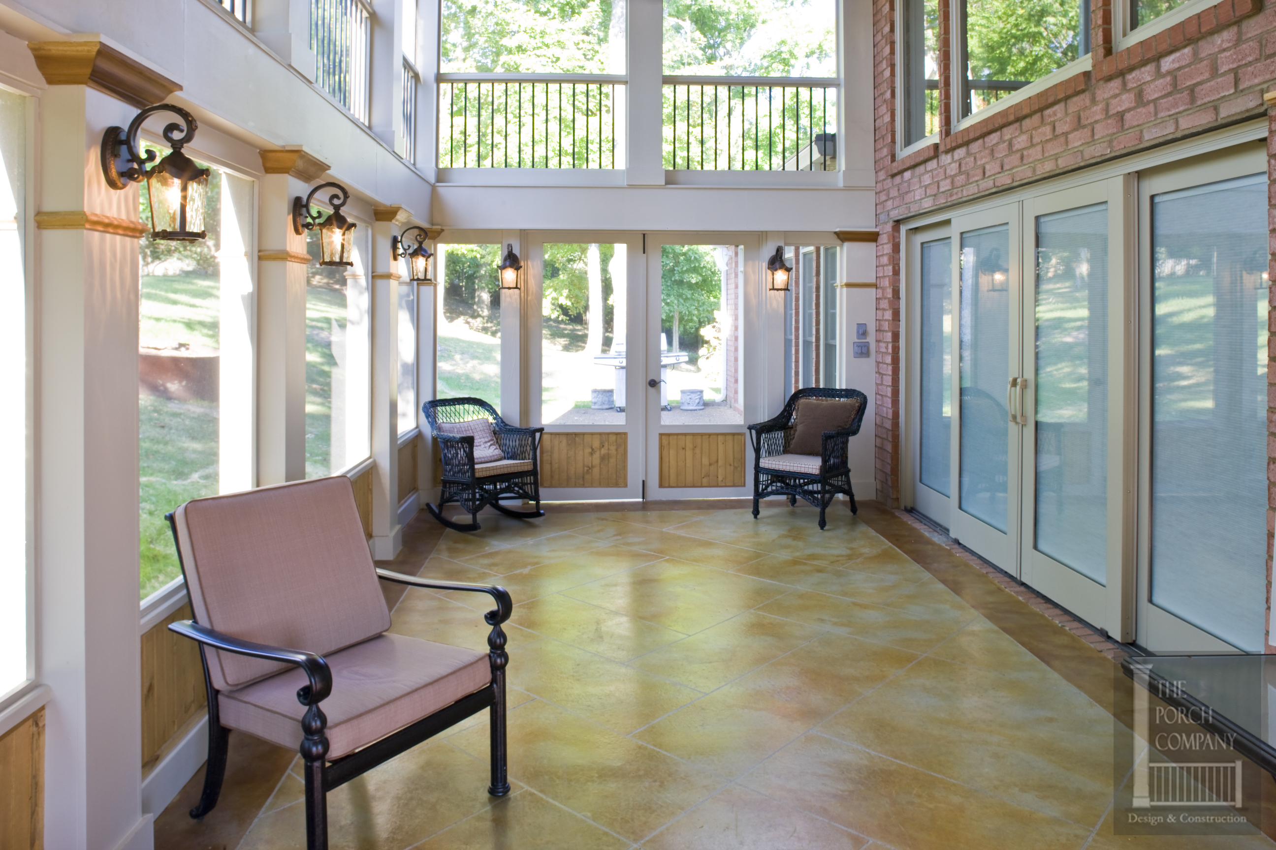 Porch flooring options the porch companythe porch company stained concrete solutioingenieria Gallery