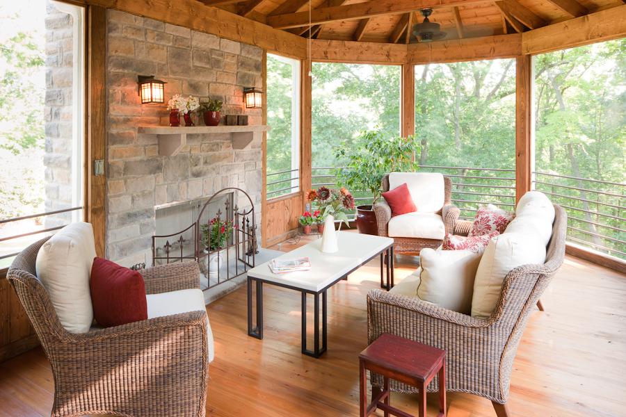 Nashville area screened porch builder