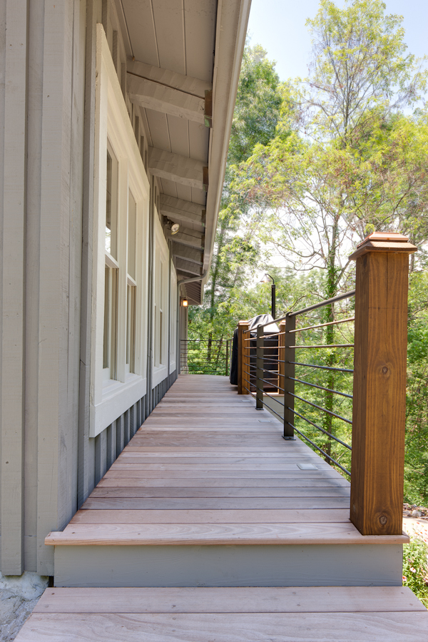 Non Traditional Railings For Your Porch Or Deck The Company