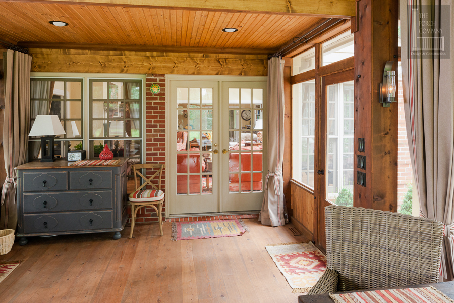 Homeowner And Designer Work Together To Build A Beautiful Porch The