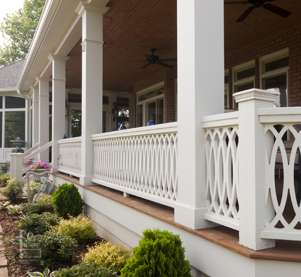 Brentwood Tn Open Porch White Railing The Porch