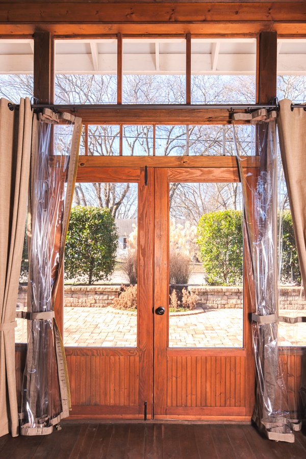Custom Wooden Screen Door