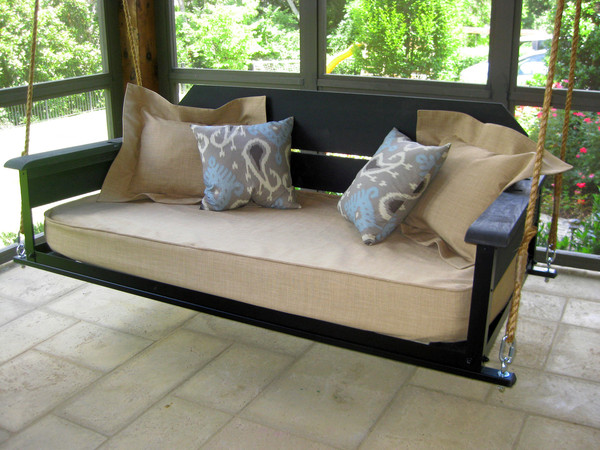 The cottage pine the porch companythe porch company for Swing bed plans