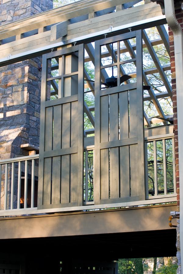 Sliding Porch Doors By Nashville S Porch Company The
