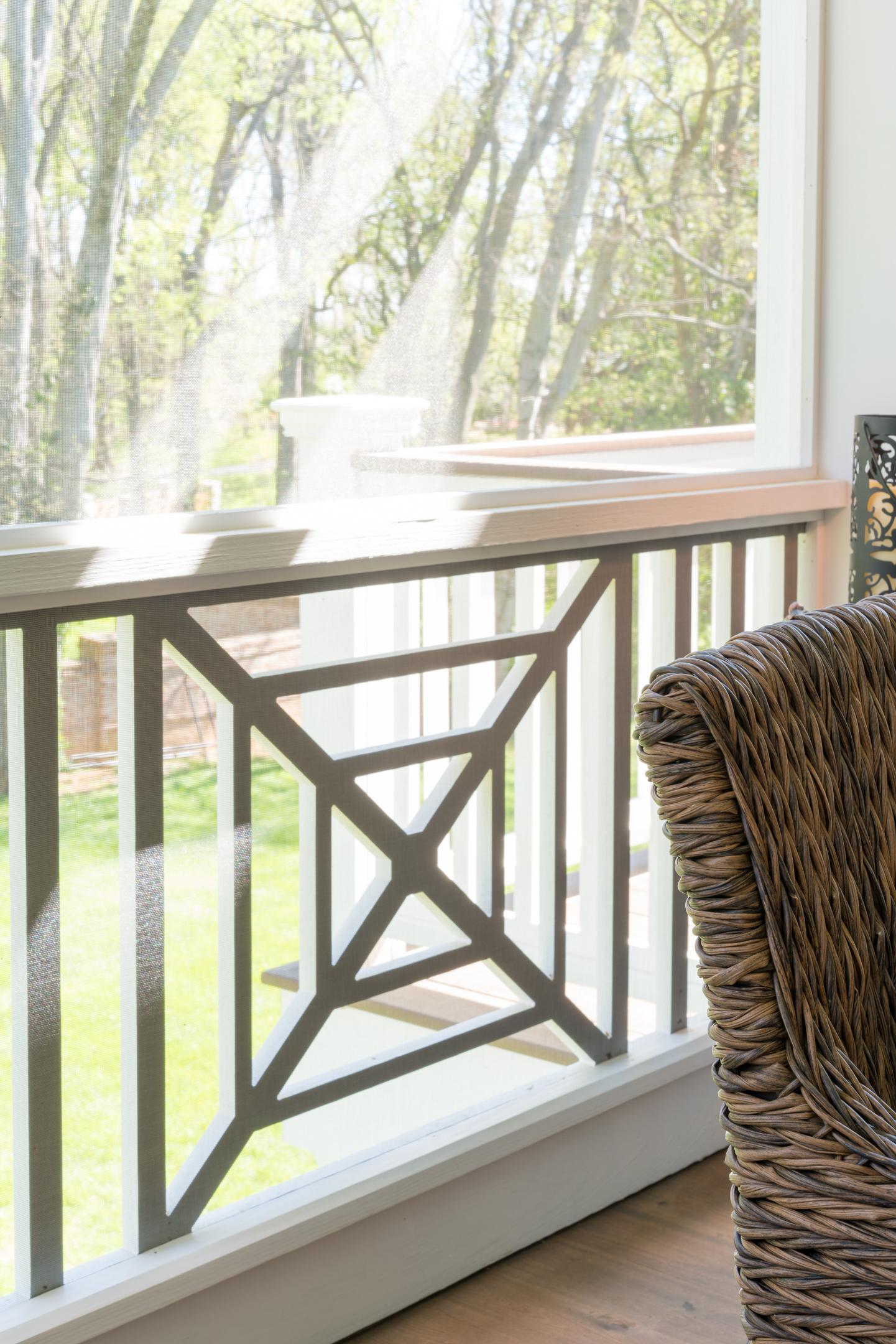 Decorative Metal Deck Railing Panels  from porchco.com
