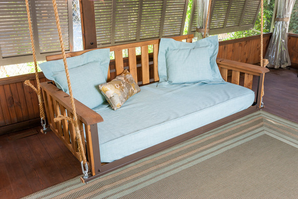 Craftsman bed swing the porch companythe porch company for Craftsman bed
