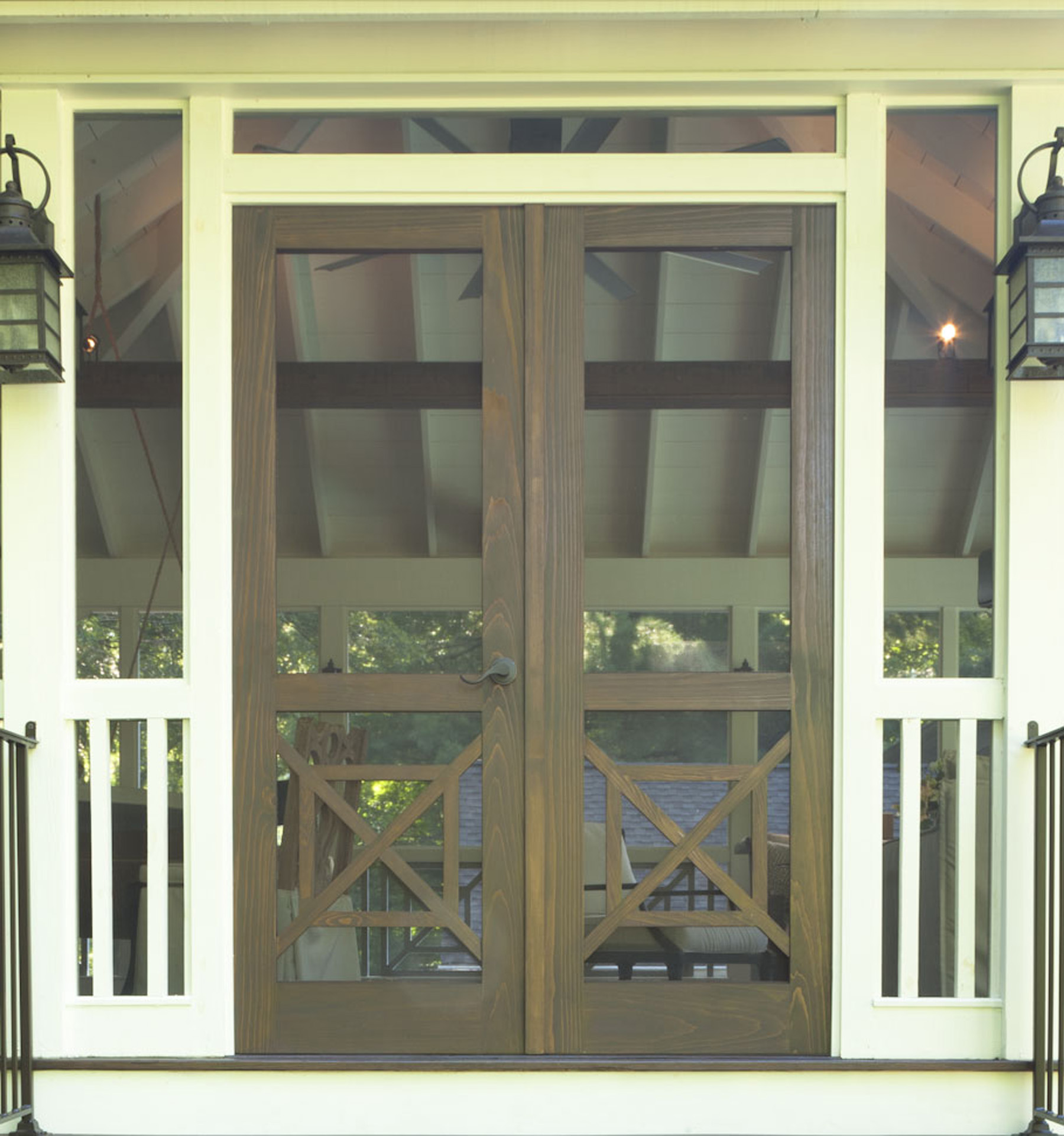 Southern Cross Double Screen Doors - The Porch Company