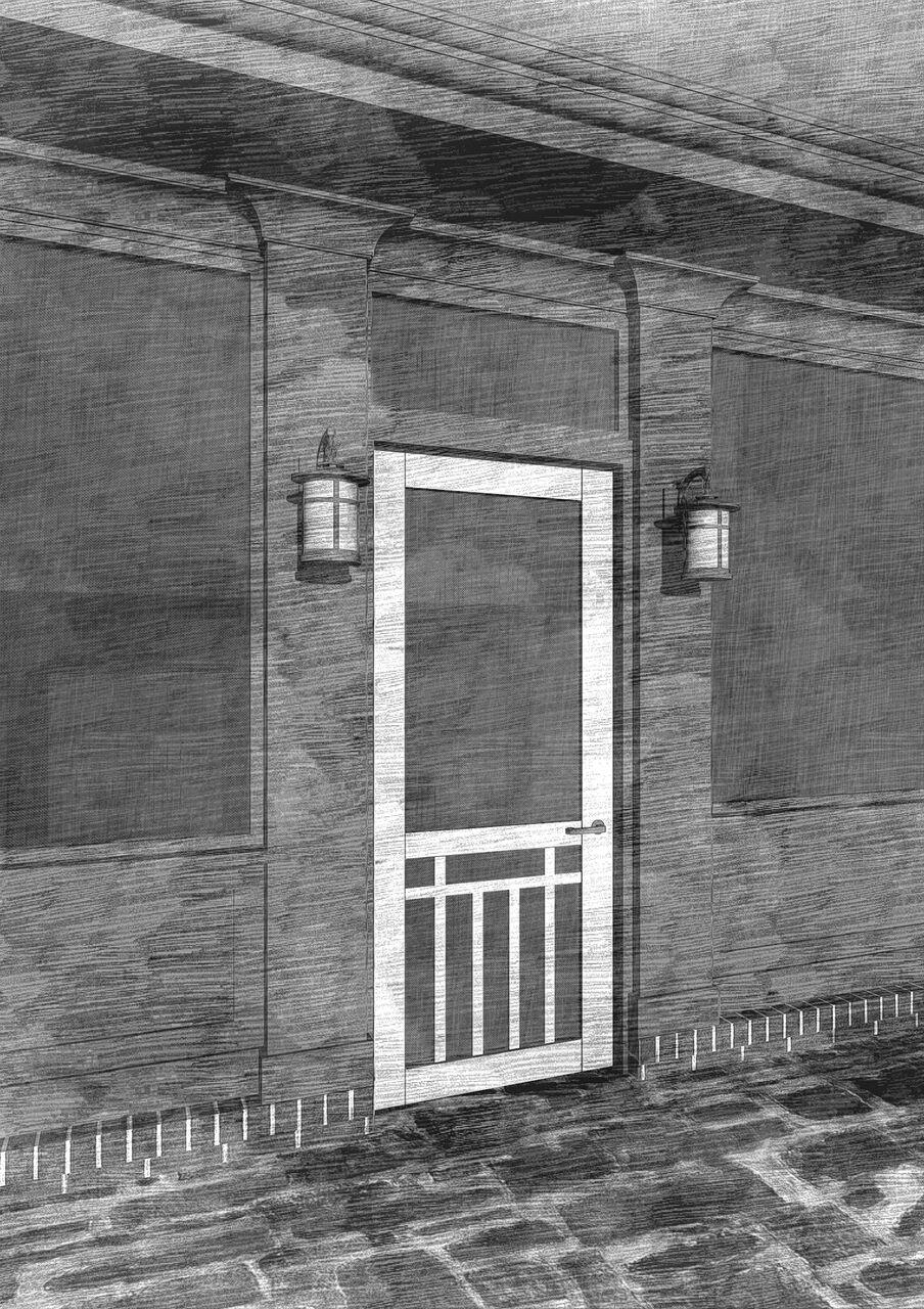 Craftsman Single Screen Door