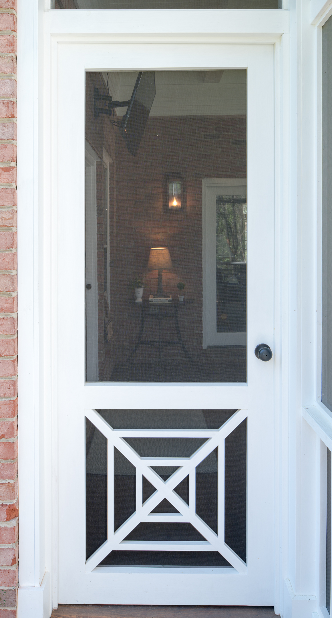 Southern Cross Single Screen Door The Porch Companythe Porch Company