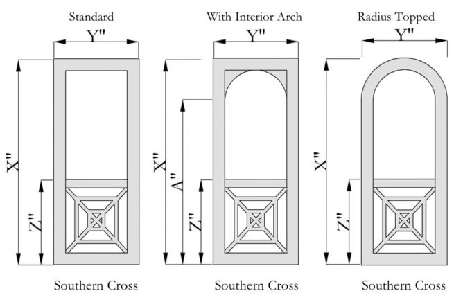 Southern Cross Wooden Screen Doors