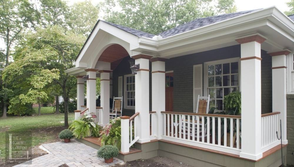 Portfolio the porch companythe porch company for Classic house fronts