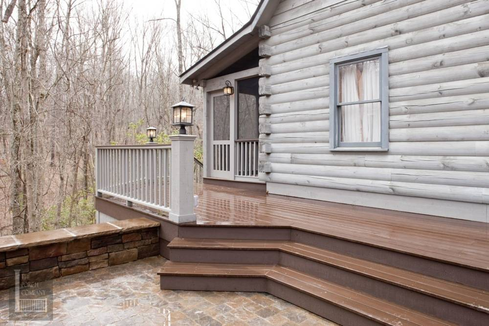 Deck of the Cabin