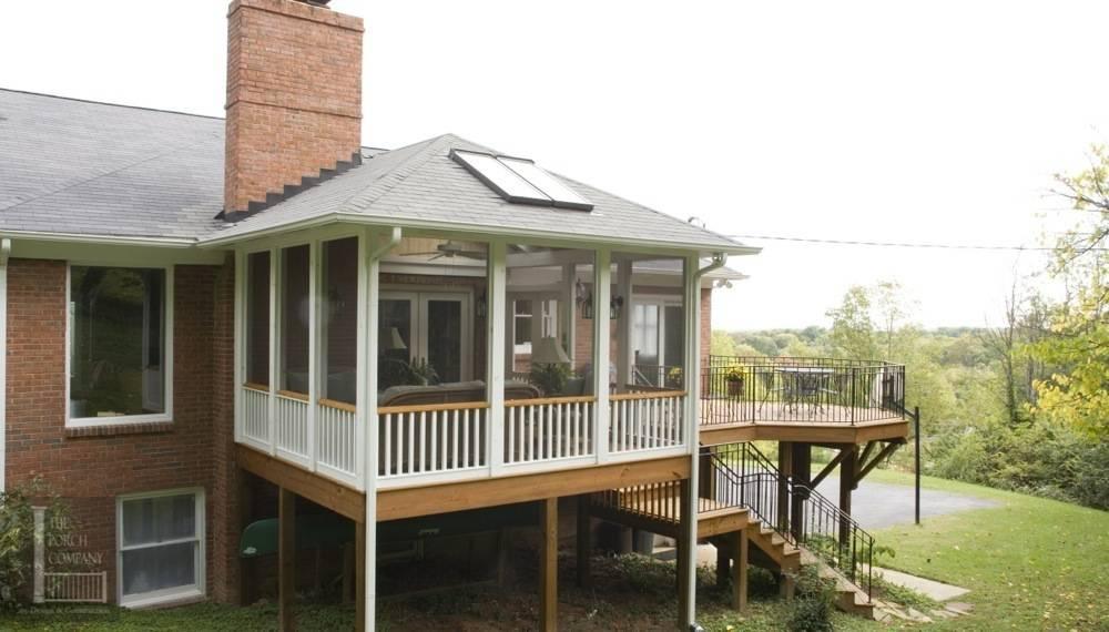 Raised Porch Deck