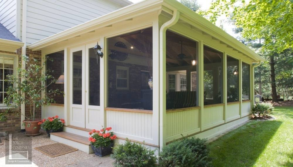 Screened Porch Patio Design