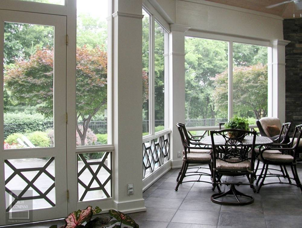 Porch designed and constructed by The Porch Company - Nashville, TN
