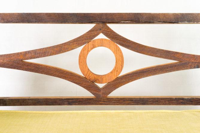 Barn Wood Bed Porch Swing