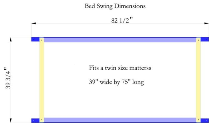 Bed Swing Dimensions