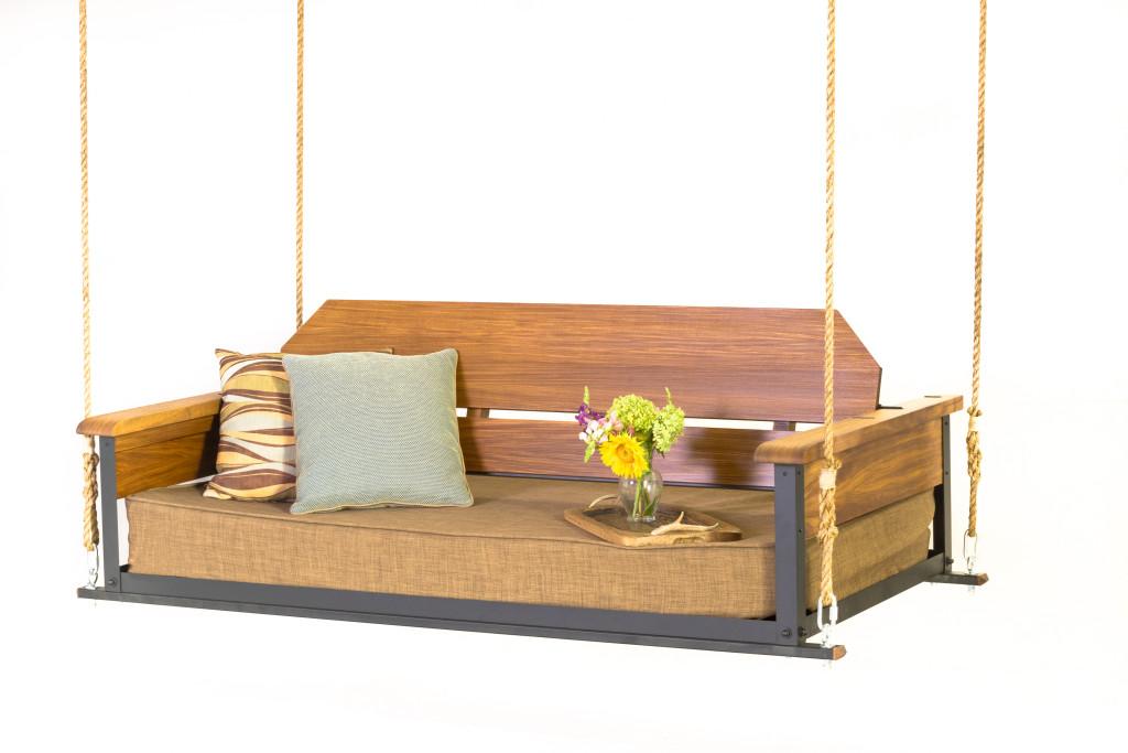 the cottage teak bed swing the porch companythe porch. Black Bedroom Furniture Sets. Home Design Ideas