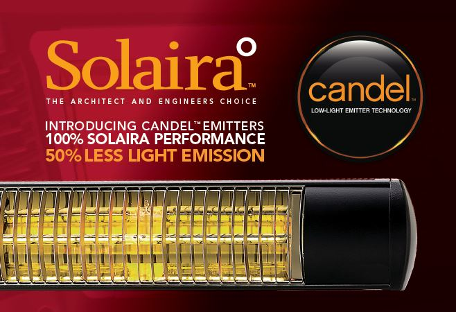 Solaira candel radiant heater