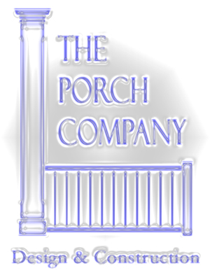 Porch company antiqued logo