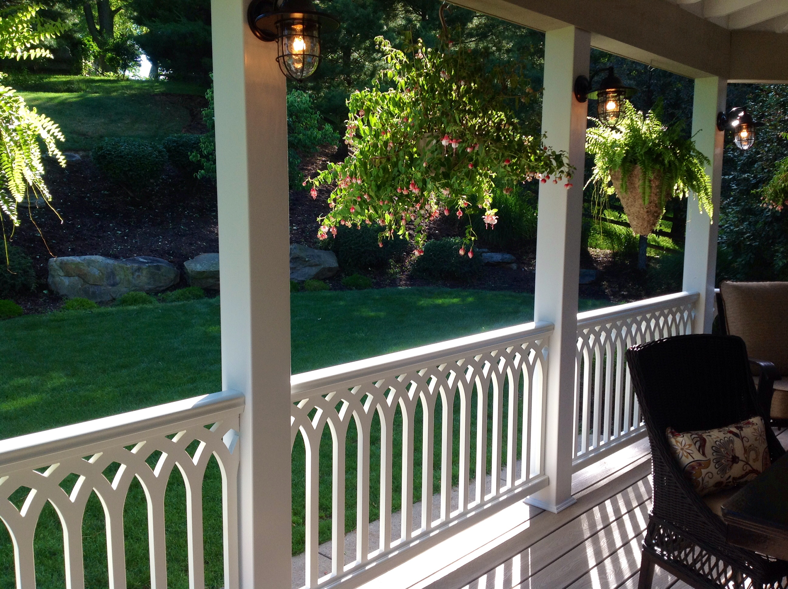 rod railings railing porch iron step black breathtaking stairs handrails chandeliers extraordinary wrought with