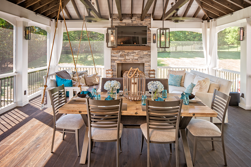 Sometimes a great outdoor living space isn't the best ... on Premium Outdoor Living id=62229