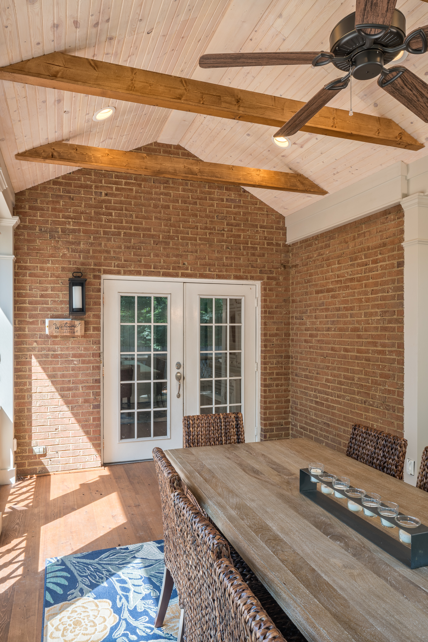 With A Screened Porch Like This You Too Would Be Just