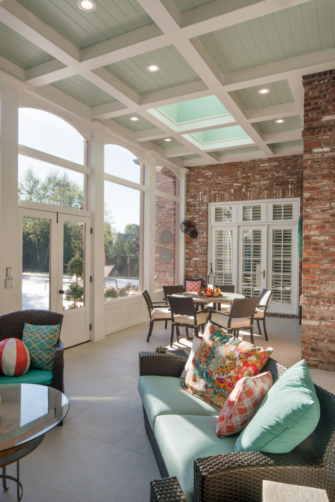 Nashville Screened Porch Designs For Your U Shaped Home