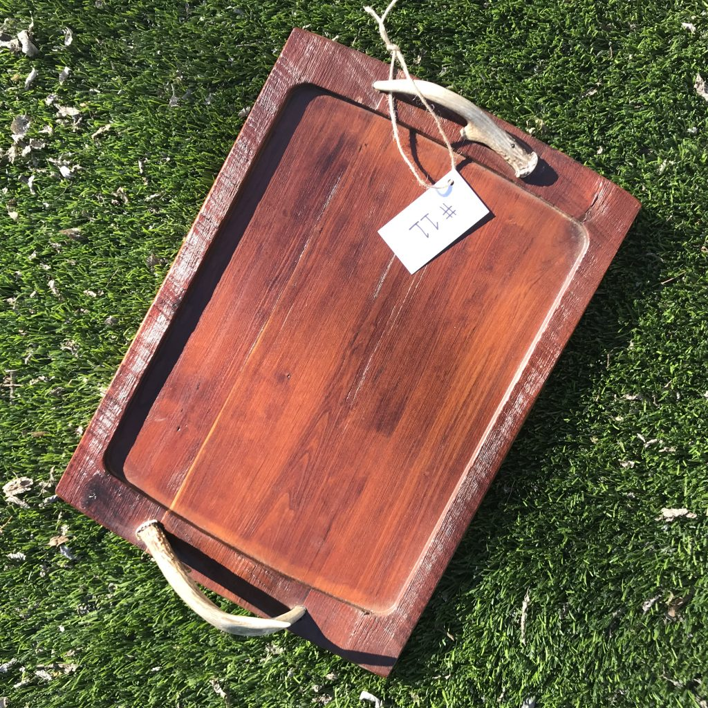 Barn Wood Tray #11