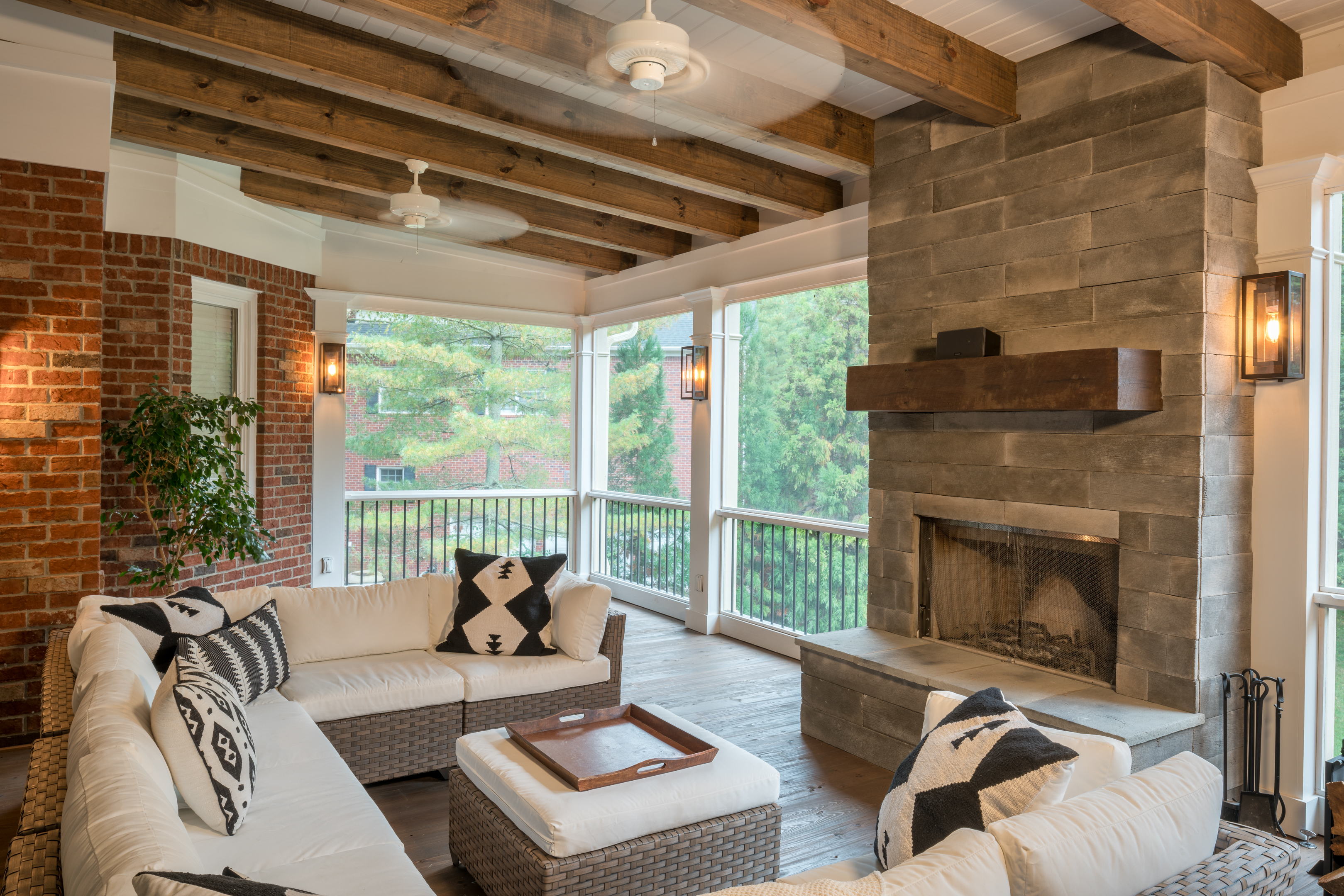 amazing front home porch ideas pertaining to fireplace designs enclosed small porches design