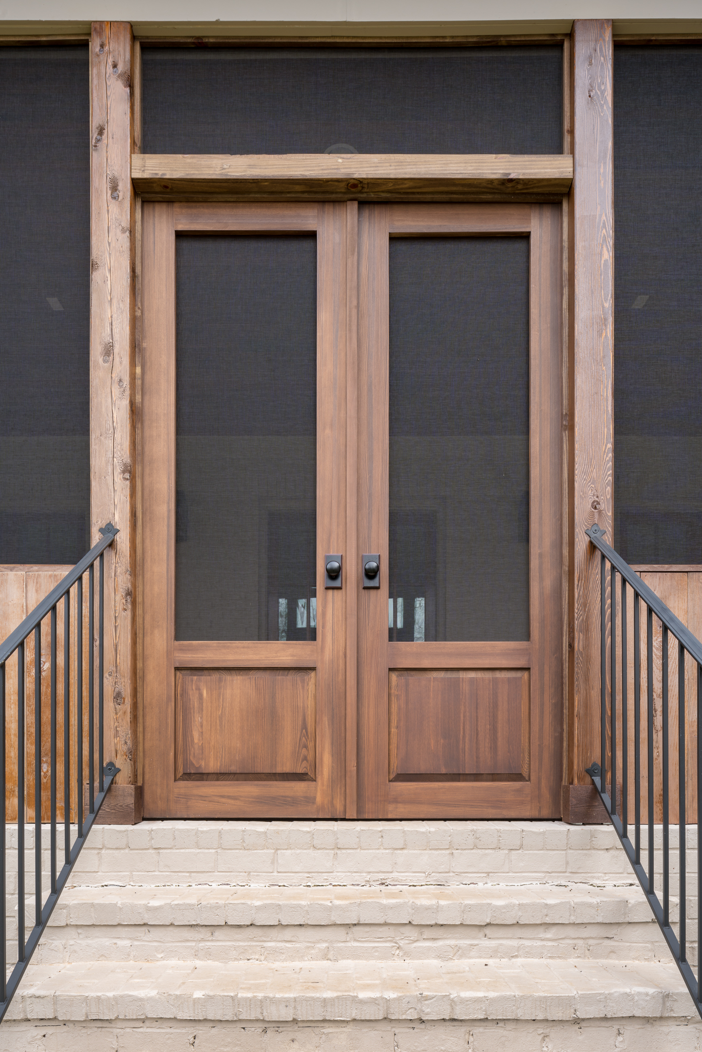 Raised Panel Double Screen Doors - The Porch Company