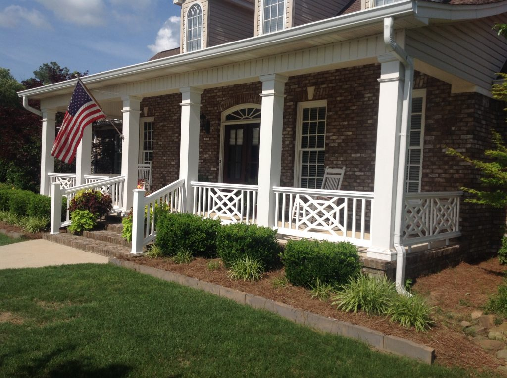 Choosing the right porch railing style for your Nashville home