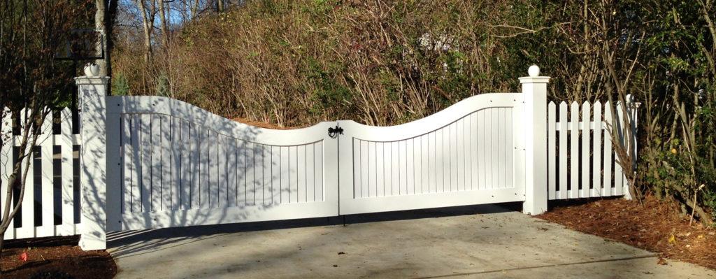 Porch Compnay PVC Gate