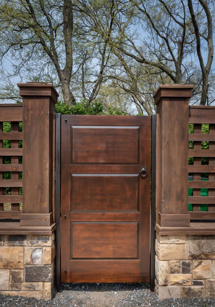 Raised Panel Gate