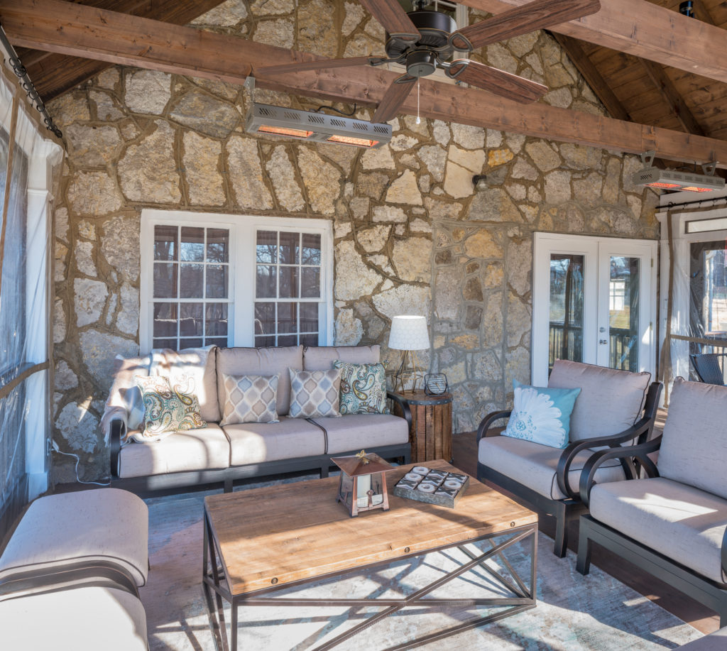 porch-screened-exposed-beams-stone-