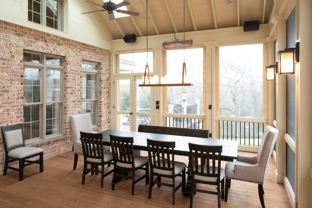 porch-screened-dining-cypress-doors-skylight-