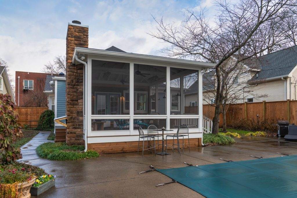 West Nashville Screened Porch