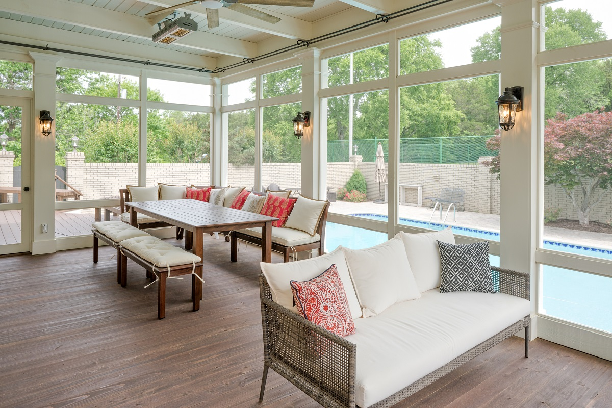 Have It Made In The Shade All Summer Long With A Porch Company Porch