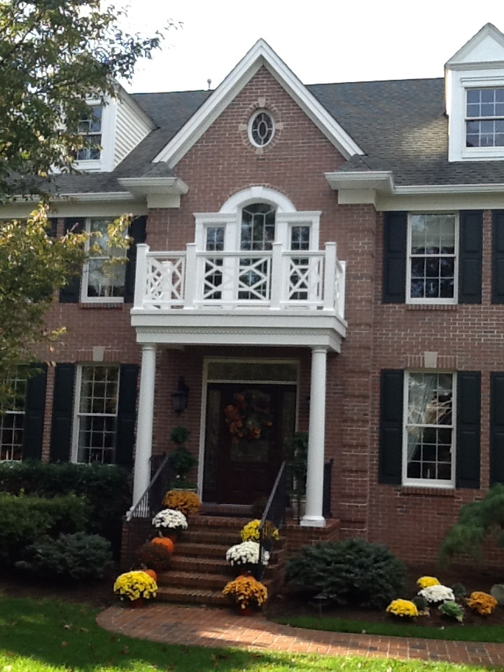 custom widows walk porch panels