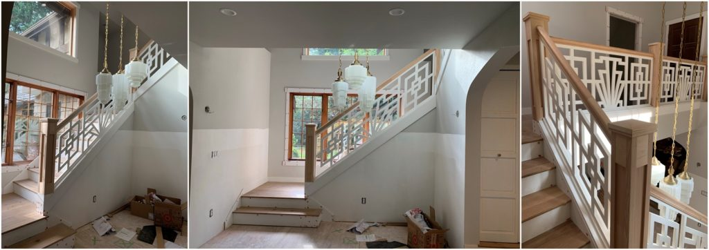 custom porch panels for interior stairways The Porch Company
