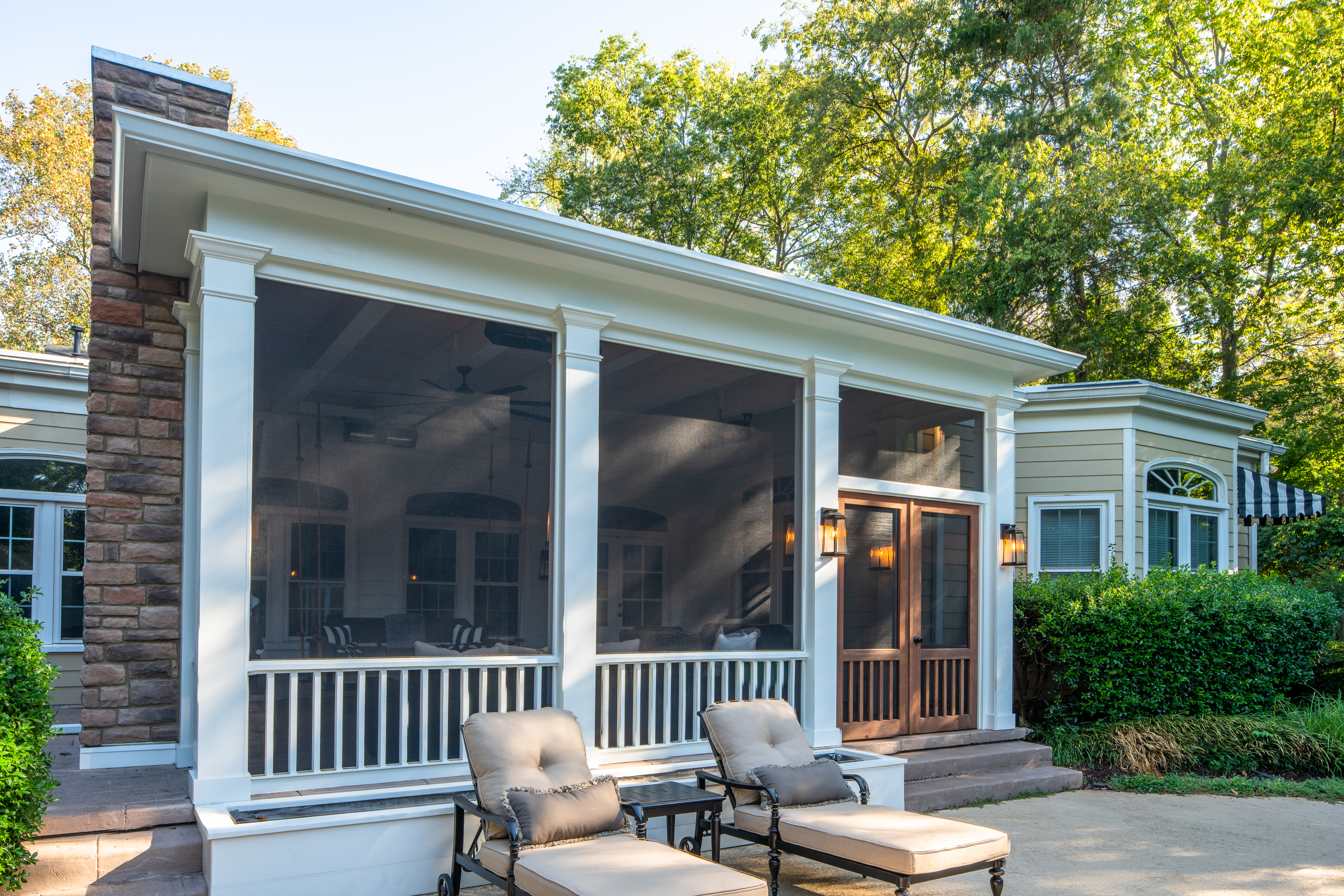 Nashville screened porch builder