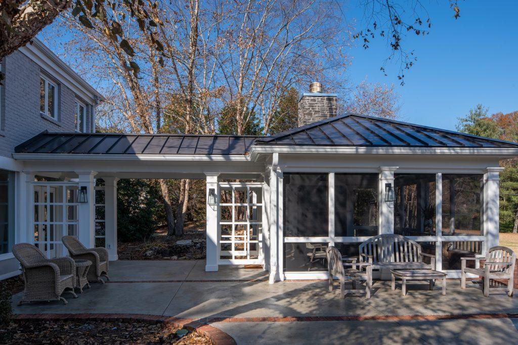 bellmeade screened porch builders